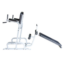 Ab Exerciser/Dip Station & Sit Up Board Combo
