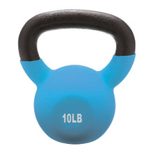 10lb Vinyl Coated Kettlebell Light Blue