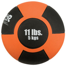 Reactor Rubber Medicine Ball 5kg ORANGE