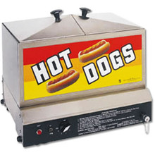 'Steamin' Demon' Hot Dog Steamer