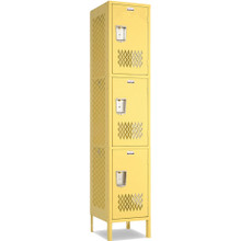 Triple Tier Athletic Locker
