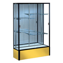 "48"" Spirit Display Case 25"