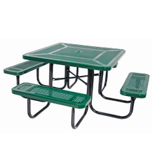 """46"""" Square Table Perforated Pattern"""