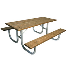 6' H-D Picnic Table - Pressure Treated