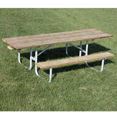8' One Sided  ADA PicnicTable - Wood