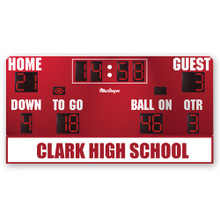 Custom Logo on MSBFB4 Scoreboard