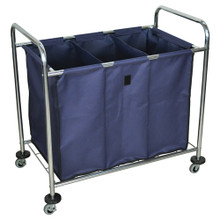 Laundry Cart w/Dividers