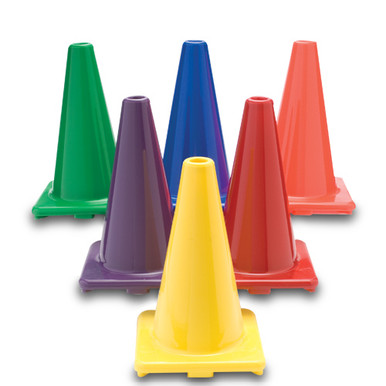 """Color My Class®  18"""" Game Cones Set of 6"""