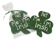 Pet Me I'm Irish Shamrocks