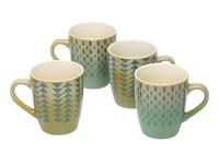 Set of 4 Mugs H002