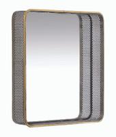 "Wren Mirror 15.5"" Square - LY115"