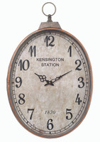 Reo Oval Clock - LY121