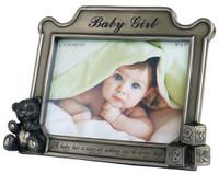 """Baby Girl Frame - 5 x 7"""" - JJ060 (JJ060)"""