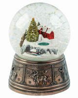 Christmas Town Snow Globe - MM033