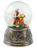 Santa & the Elves Snow Globe - MM034