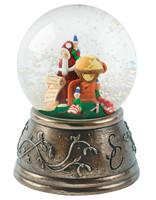 Santa & the Elves Snow Globe - MM034