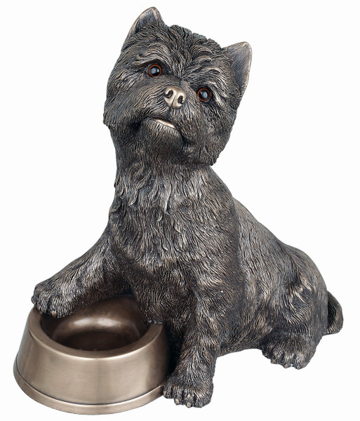 Westie with Bowl - PP018