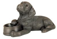 Labrador with Bowl - TM111 (TM111)