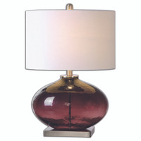 Tyrian Glass Table Lamp -  26190-1