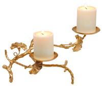 Abbey Candle Holder Double - SDI070