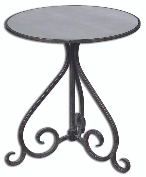Poloa Accent Table (Mirror Top) - 24380