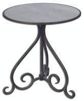 Poloa Accent Table (Mirror Top) - 24380