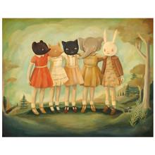 Bess, Maude, Frances, Matilda & Maryanne Print