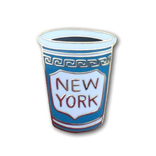 New York Enamel Pin