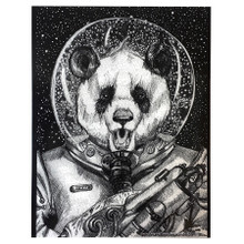 Space Panda Sticker