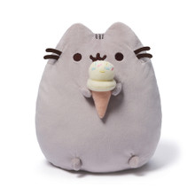 Ice Cream Cone Pusheen Plush