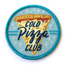 Cold Pizza Club Patch