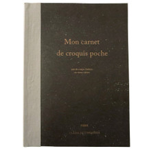 Mon Carnet de Croquis Poche Rough Notebook, Large