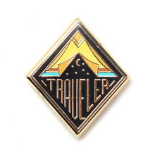Traveler Enamel Pin
