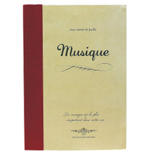 Musique Rough Notebook, Large