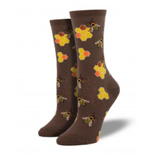 Busy Bees Crew Socks