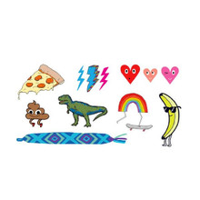 Kids Mix Three Temporary Tattoo Set