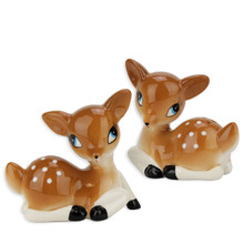 Fawn Salt & Pepper Shakers