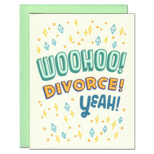 Woohoo Divorce! Card