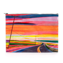 Sunset Highway Jumbo Pouch