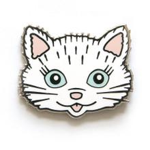 Kitschy Kitten Enamel Pin