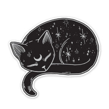 Mystical Cat Sticker
