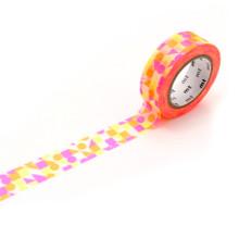 Maru Sankaku Shikaku Pink Washi Tape
