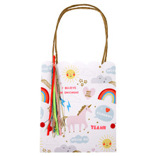 Rainbow + Unicorn Party Gift Bag