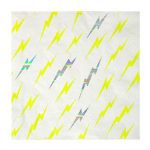 Holographic Lightning Napkins
