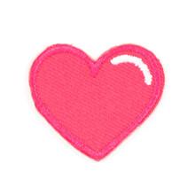 Pink Heart Sticker Patch