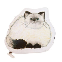 Fluffy Cat Zipper Pouch