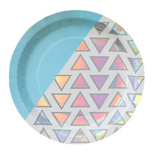 "Disco Diamond 9"" Plates"