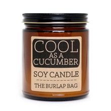 Cool as a Cucumber Soy Candle