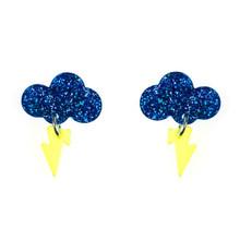 Baby Rain Cloud Earrings
