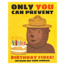 Smokey Bear Birthday Card